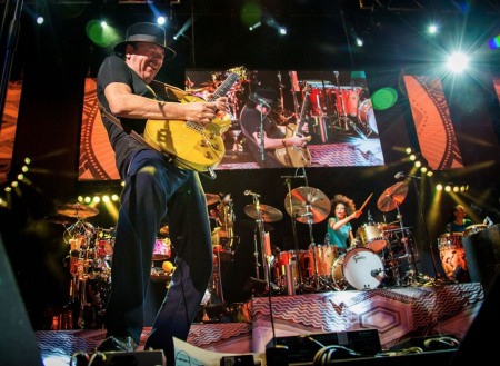 Carlos Santana will resume his residency at House of Blues Las Vegas this year.
