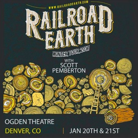 Railroad Earth plays Denver's Ogden Theatre Jan.20-22