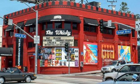 The original neon-lit marquee sign of the Hollywood venue, Whiskey A Go Go,will be going up for auction this week.