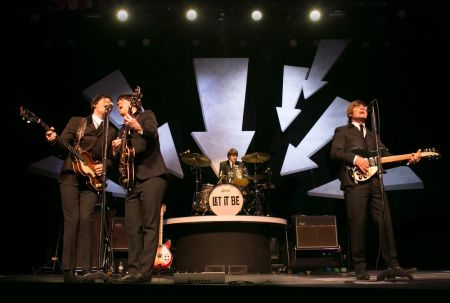 "A photo from ""Let It Be: A Celebration of the Music of the Beatles."""