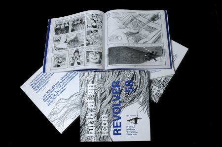 "The layout of Klaus Voormann's ""Revolver"" book. A deluxe edition is being offered by Genesis Publications."