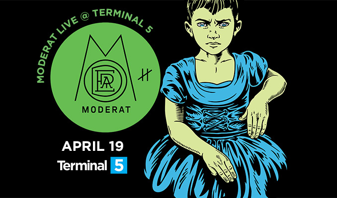 Moderat tickets at Terminal 5 in New York