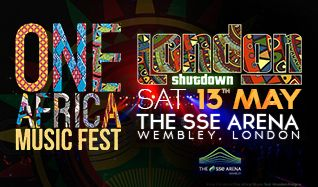 One Africa Music Fest London tickets at The SSE Arena, Wembley in London