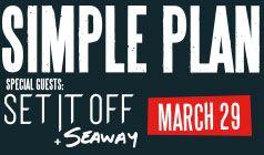 Simple Plan tickets at Starland Ballroom in Sayreville
