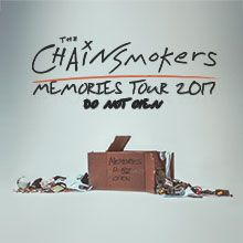 The Chainsmokers tickets at Hampton Coliseum, Hampton