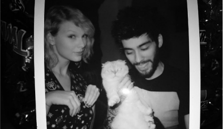 Swift and Zayn both covered their new song yesterday