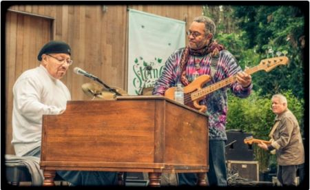 Art Neville and George Porter Jr., original members of The Meters.