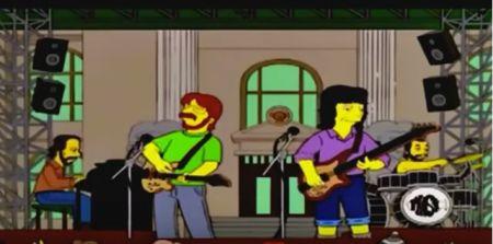 "Phish on ""The Simpsons."""