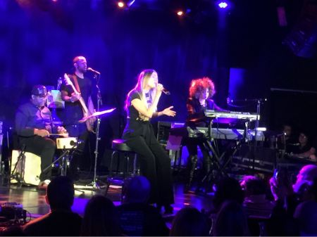 LeAnn Rimes plays New York City's (Le) Poisson Rouge on Saturday, February 4, 2017.