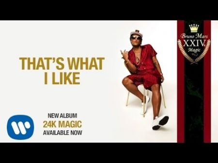 Bruno Mars selects 'That's What I Like' as next '24K Magic' single