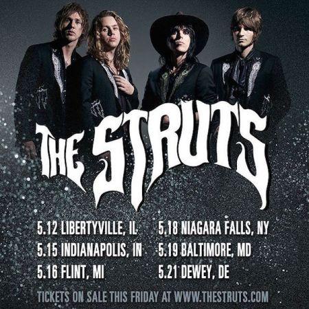 The Struts announce US tour dates
