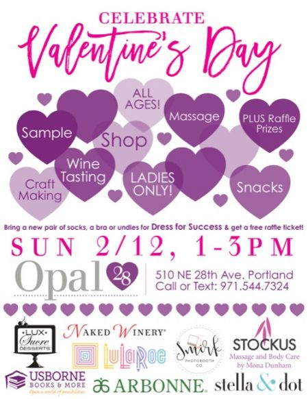 Lovely Valentine's Day events Portland oregon Collections