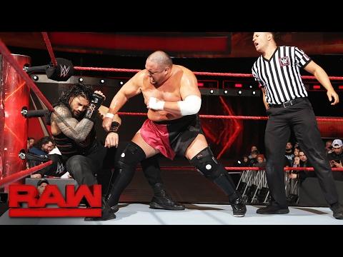 Samoa Joe dominating as 'WWE Monday Night Raw' heads into Las Vegas