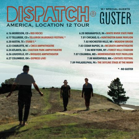 Dispatch will launch their new tour June 16 at Red Rocks