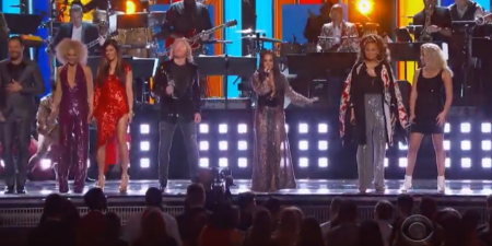 Little Big Town and more perform the Bee Gees' biggest hits at the Grammy Awards.