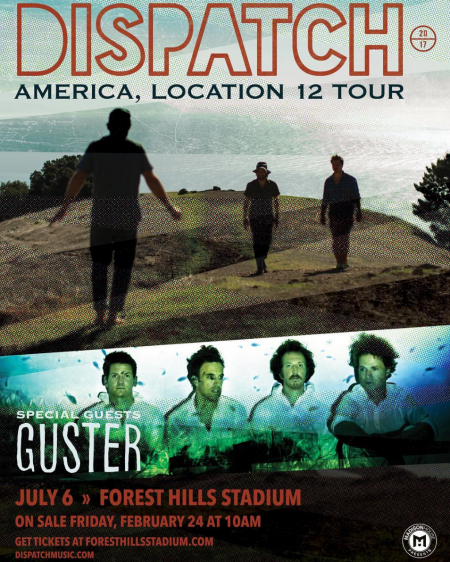 Dispatch will play Forest Hills Stadium on July 6. Get tickets right here on AXS!