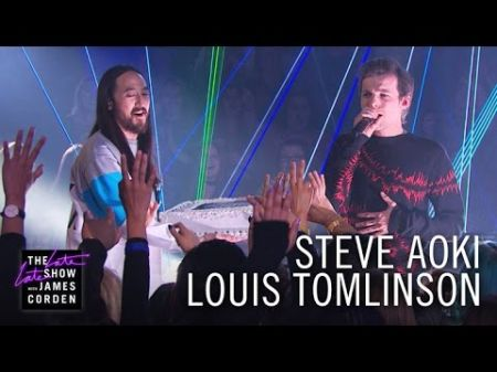 Watch: Louis Tomlinson and Steve Aoki crush 'Just Hold On' performance on 'The Late Late Show'