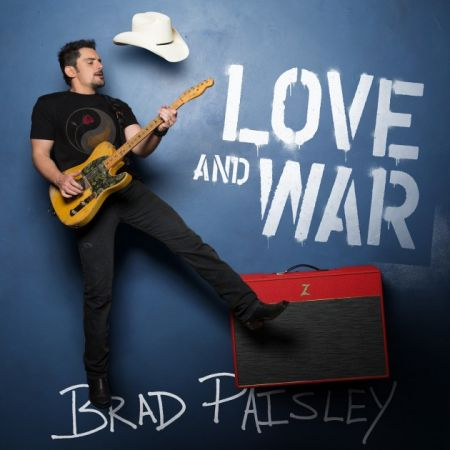 Brad Paisley releases new album Love and War on April 21, 2017.