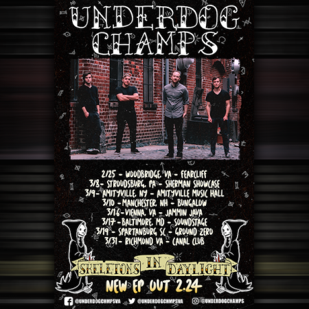 Exclusive premiere: Stream Underdog Champs EP, 'Skeletons In Daylight'