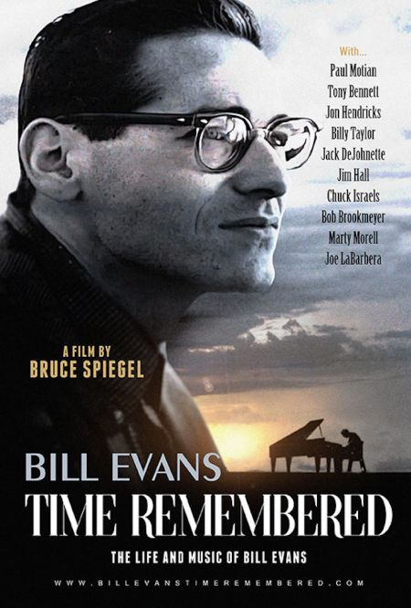 An interview with the late jazz drummer Paul Motian led filmmaker Bruce Spiegel to an eight-year odyssey to find the real Bill Evans. Time R