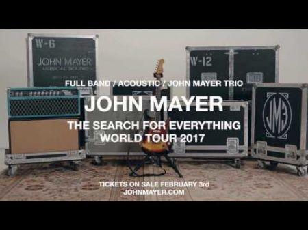 John Mayer announces Dallas summer 2017 tour stop