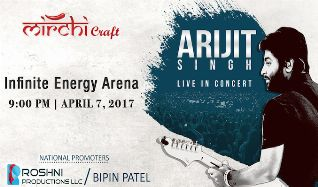 Arijit Singh tickets at Infinite Energy Arena in Duluth