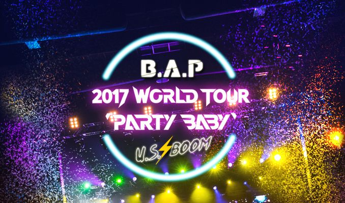 B.A.P 2017 World Tour 'Party Baby!' tickets at Terminal 5 in New York