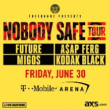 Future: Nobody Safe Tour tickets at T-Mobile Arena in Las Vegas