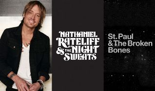 Keith Urban / Nathaniel Rateliff & The Night Sweats /  St. Paul & The Broken Bones tickets at Snowmass Town Park in Snowmass