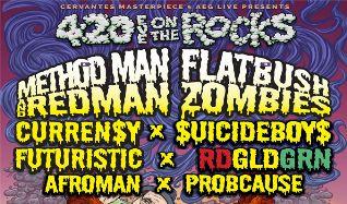 Method Man & Redman, Flatbush ZOMBiES tickets at Red Rocks Amphitheatre in Morrison