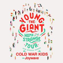 Young the Giant tickets at Red Rocks Amphitheatre in Morrison