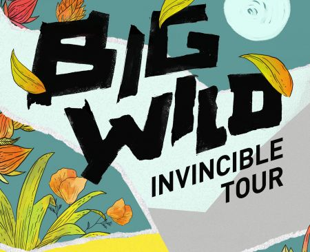 This spring,, Big Wild will tour in support of his debut EP Invincible.