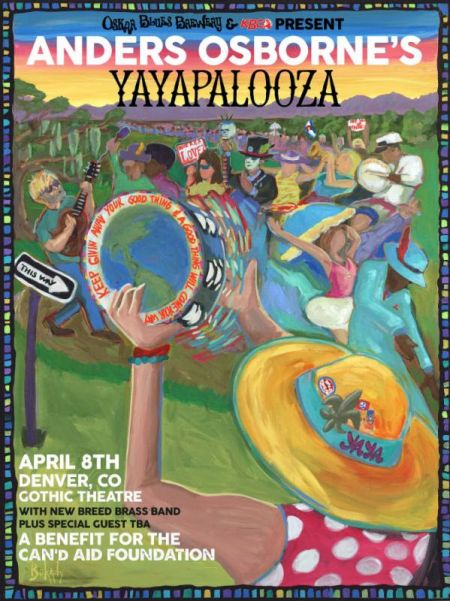 Yayapalooza will take place April 8 at Denver's Gothic Theatre.