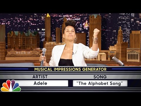 Watch Alicia Keys impersonate Adele, Gwen Stefani and Janis Joplin on 'The Tonight Show'