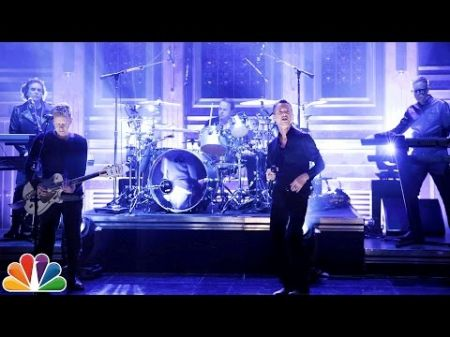 Watch Depeche Mode perform 'Where's The Revolution' on 'The Tonight Show'