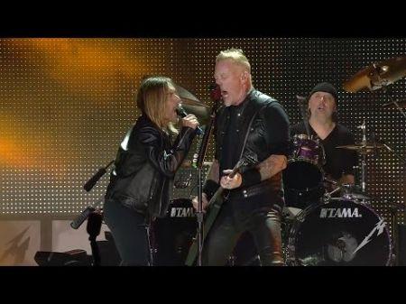 Iggy Pop & Metallica team up to perform 'TV Eye' live in concert