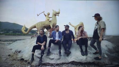 Local Natives chronicle making of latest album in new 'Dark Days' video