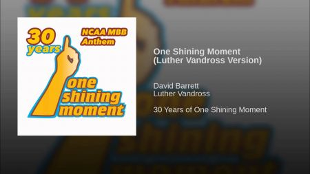 Luther Vandross' 'One Shining Moment' will return to NCAA tournament