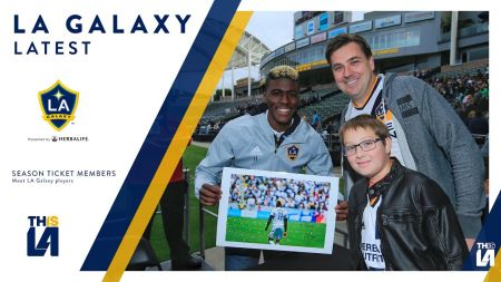 Kids will have the chance to see their artwork in LA Galaxy programs all season long