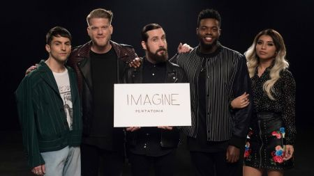 Watch Pentatonix's inclusive music video for cover of John Lennon's 'Imagine'