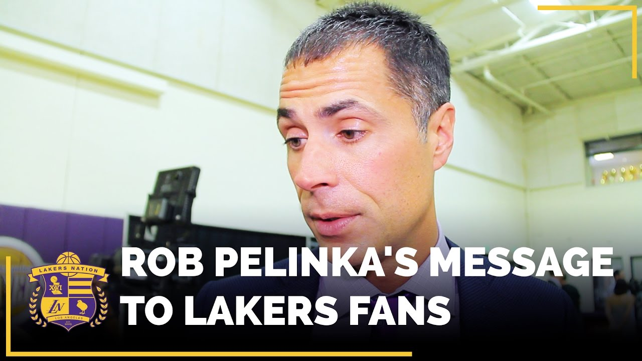 Lakers GM Rob Pelinka says team needs to add 'significant players' through NBA free agency