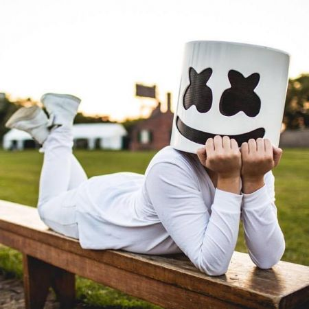 The masked DJ known as Marshmello added a new show at the Fox Theater in Pomona, CA on April 20.