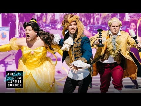 Watch James Corden's Crosswalk Theater remake of 'Beauty and the Beast'