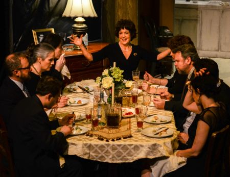 Geoff Finney as Little Charles, Pete Benson as Bill, Ann Wilkinson Ellis as Barbara, Melissa Fenwick as Ivy, Barbara Deering as Violet, Jenn