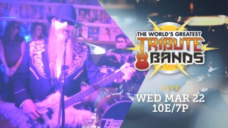 ZZ Top tribute band Eliminator head to next episode of AXS TV's 'World's Greatest Tribute Bands,' March 22