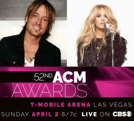 Keith Urban & Carrie Underwood headed to the 2017 ACM Awards.