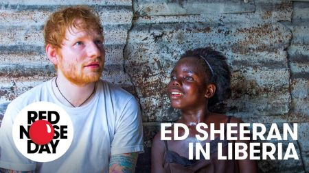 Ed Sheeran gives emotional account of trip to Liberia for Comic Relief's Red Nose Day