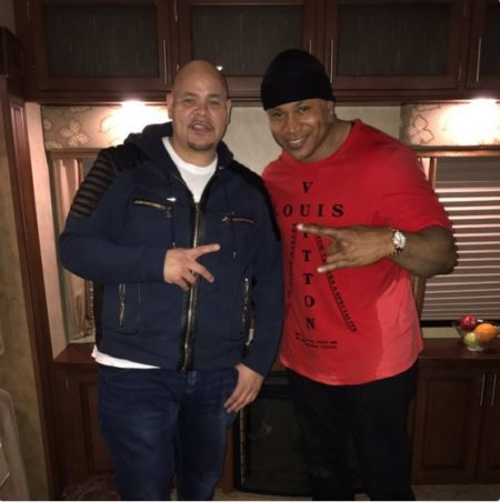 A recent picture of Fat Joe with friend and collaborator LL Cool J