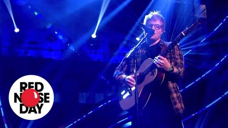 Watch: Ed Sheeran delivers heartfelt acoustic performance of 'What Do I Know?' for Comic Relief's Red Nose Day special