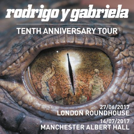 Latin duo Rodrigo y Gabriela will set off on a 10th Anniversary Tour in celebration of their 2006 self-titled LP this summer.